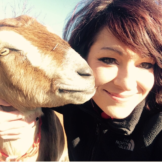 A #fridayfelfie with Izzy awhile back