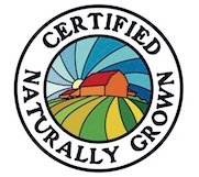 Brood Farm produce is now officially Certified Naturally Grown!