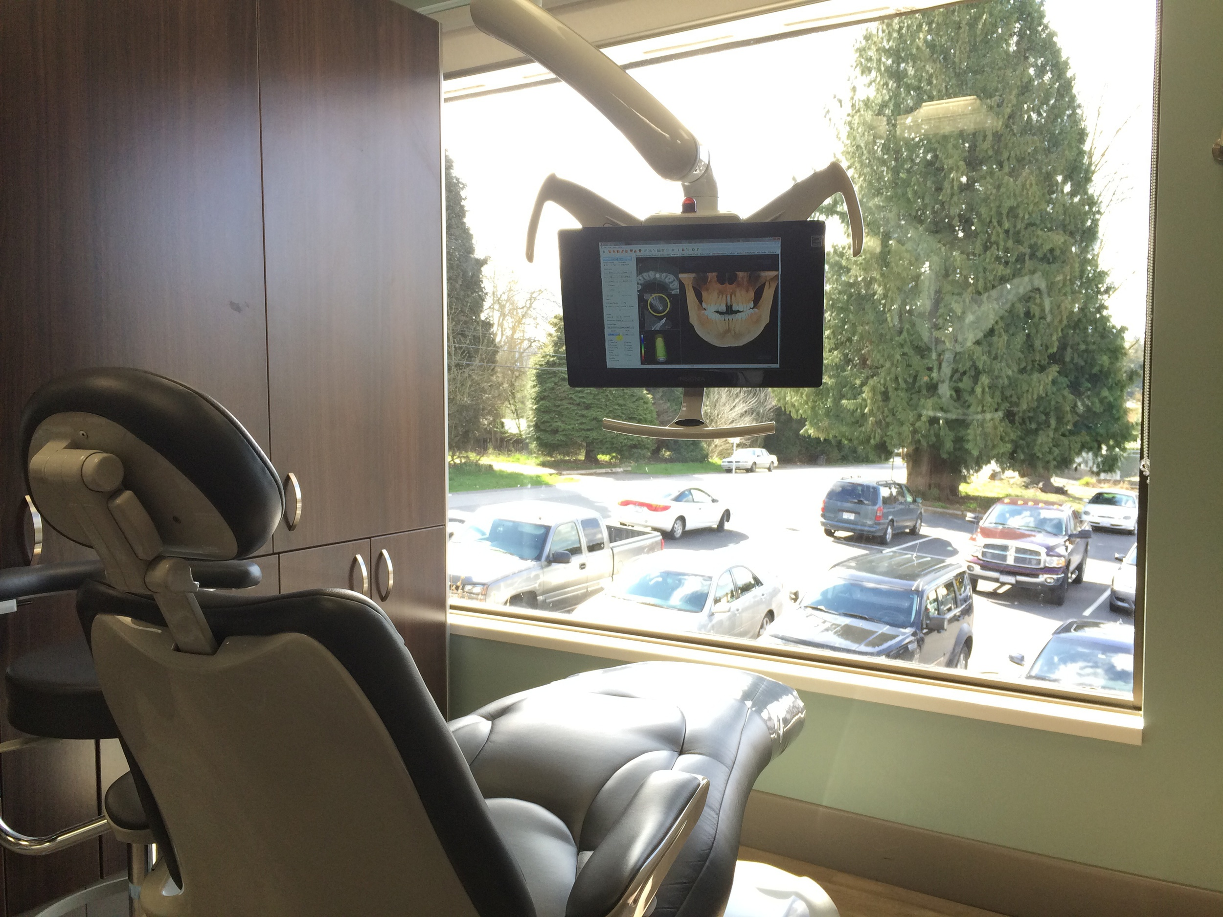 Our newly renovated, state-of-the-art facility has massaging chairs and tv's in every room.