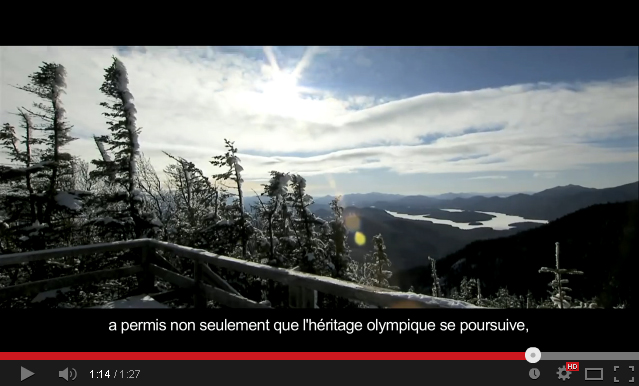 Click to view video: Lake Placid 1932 - 1980 | Olympic Legacy  (in English, with French subtitles)