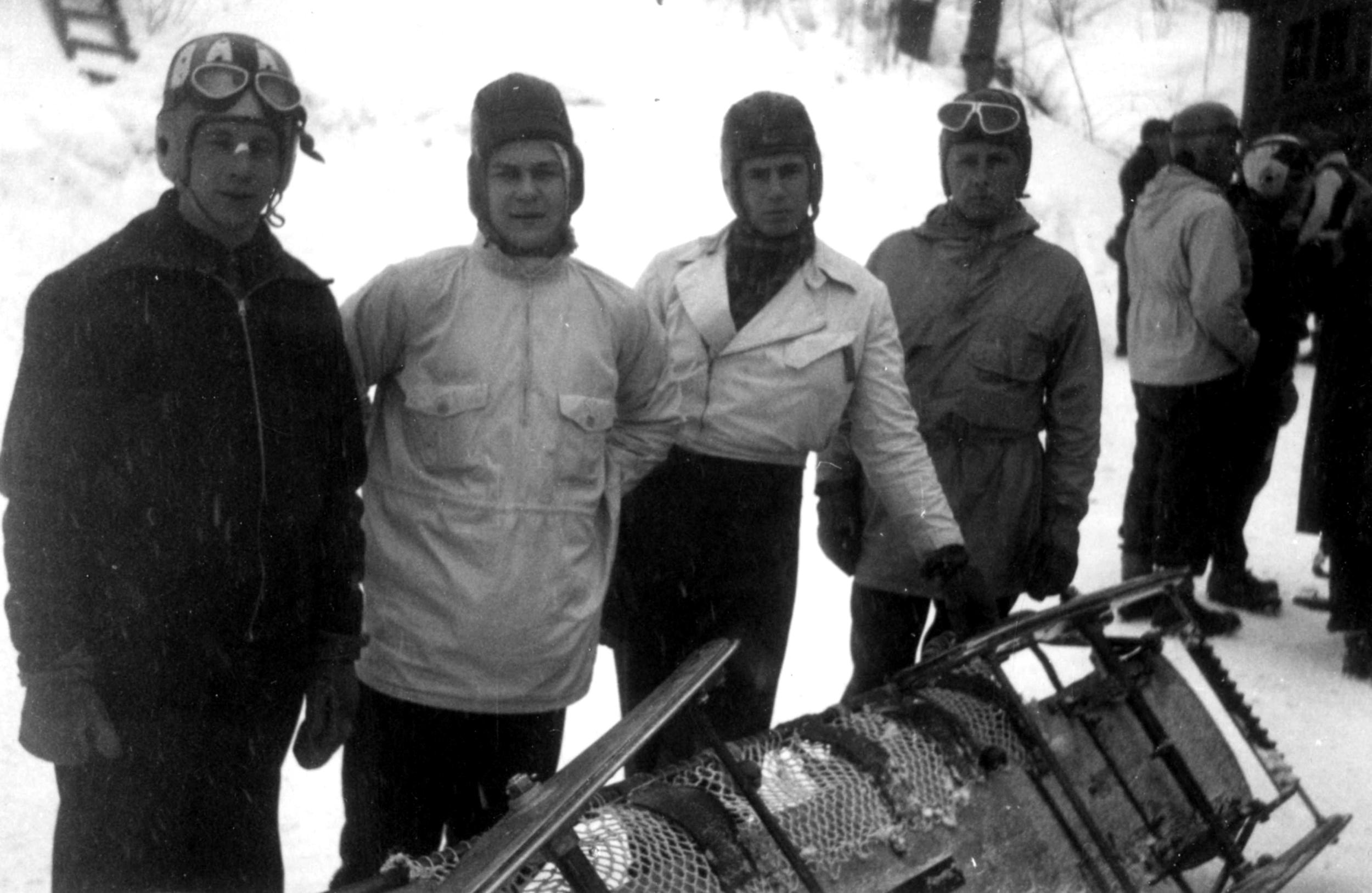 Phil Wolff, far left  - LPOM photo
