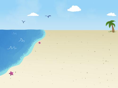 Beach Background: Day