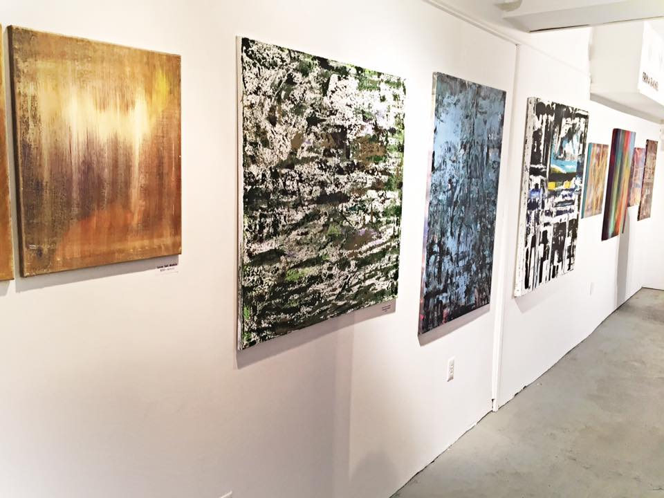 """Erika Rachel Art at The """"A"""" Space Gallery 2015"""