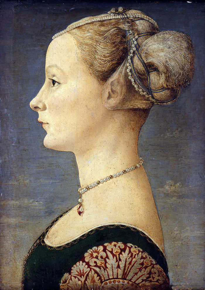 Pollaiuolo    Portrait of a Lady , 1460