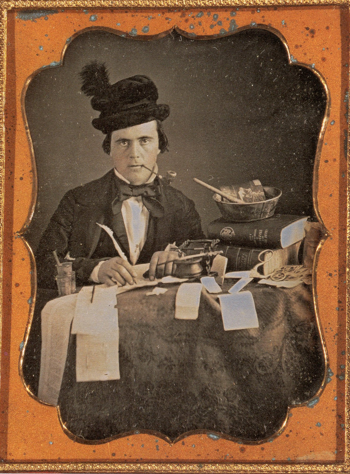 Anonymous Ambrotype from the late 1800's