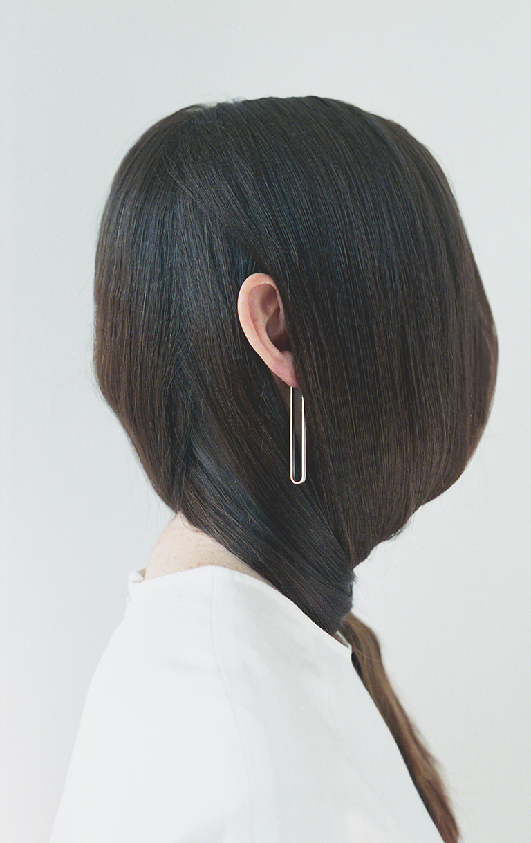 Arc Jewellery - Linearity lookbook - Tune Earring