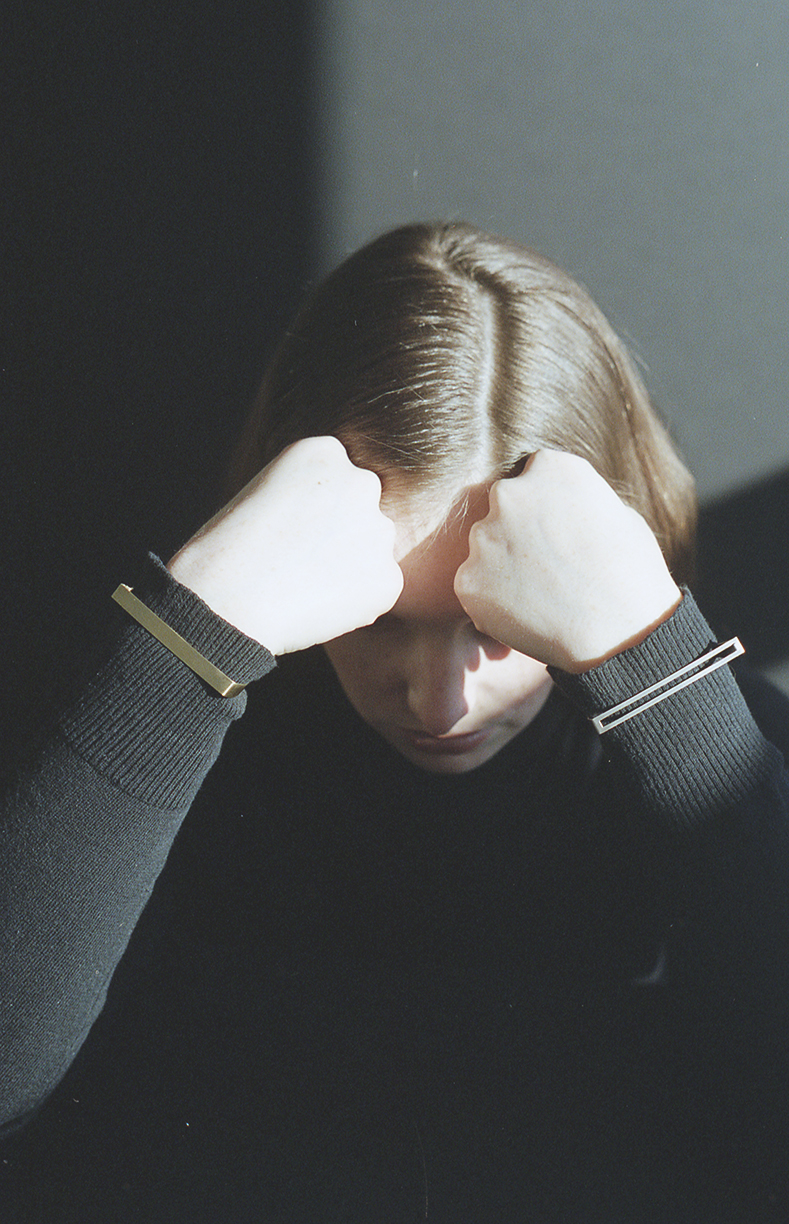Arc Jewellery - Linearity lookbook - Tune Bracelet - Theory Bracelet
