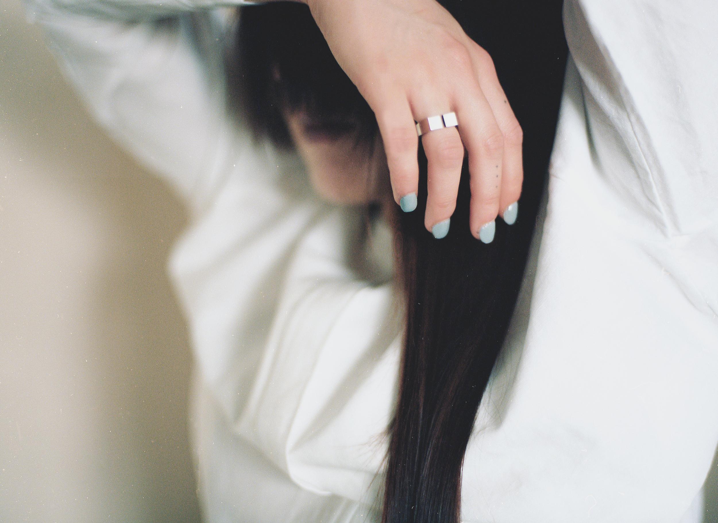 Arc Jewellery - Vacancy Lookbook - Majuscule Gap Ring