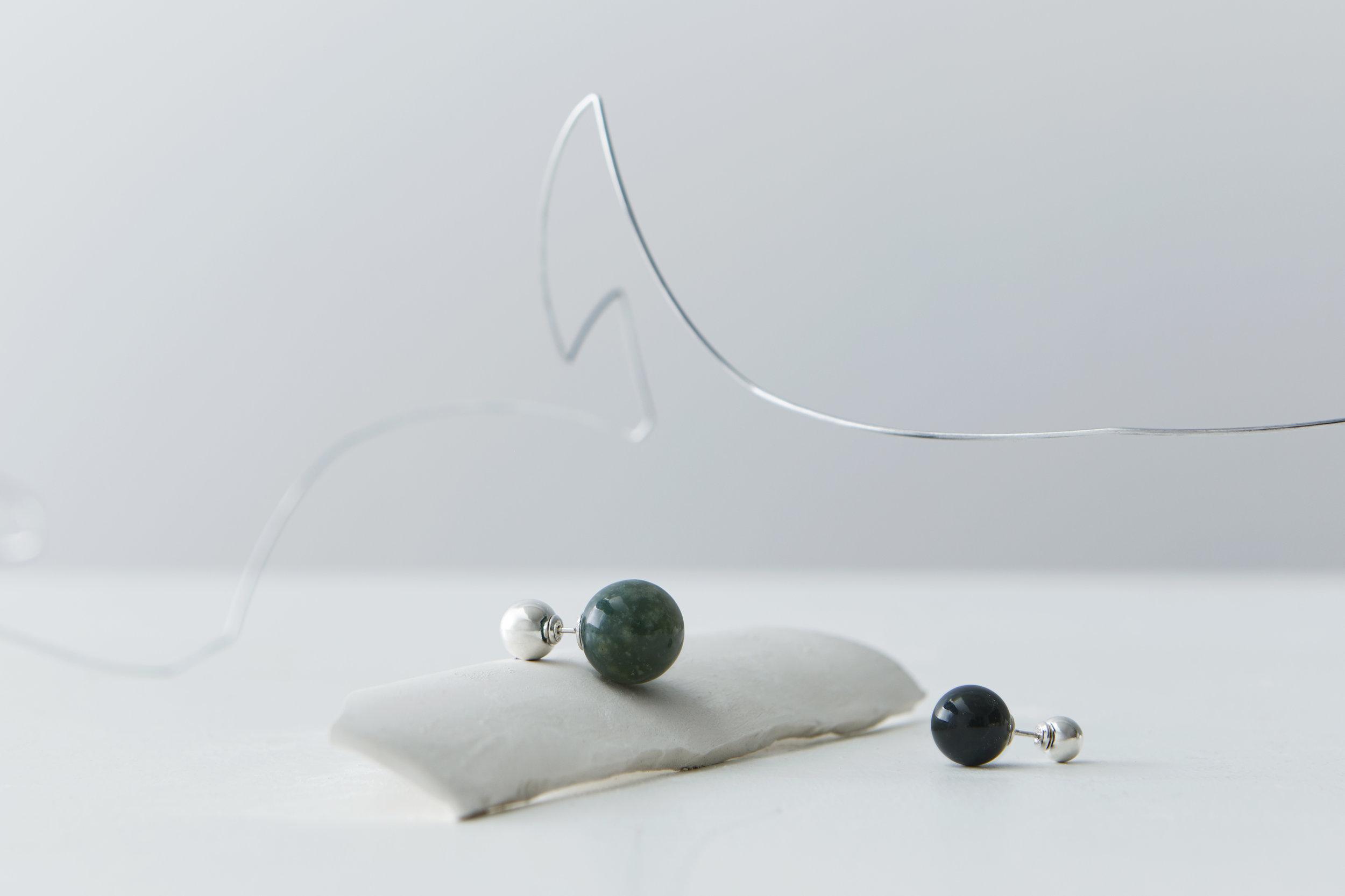 ▲ STACCATO I & II earrings