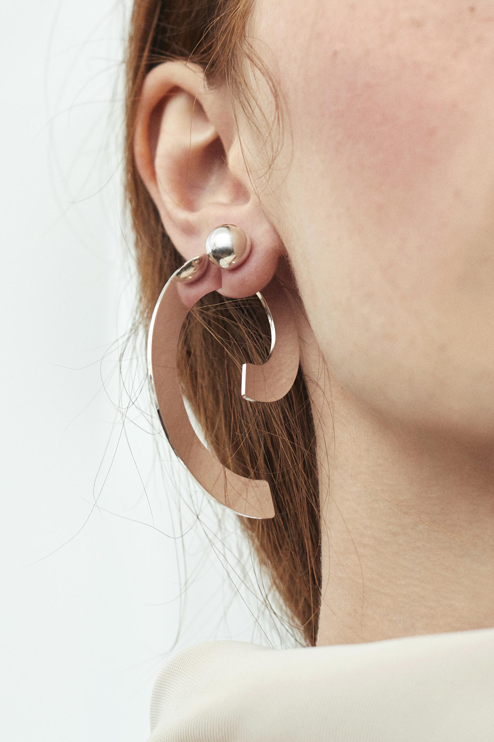 YUUN - Harmonics - Sigma earring set