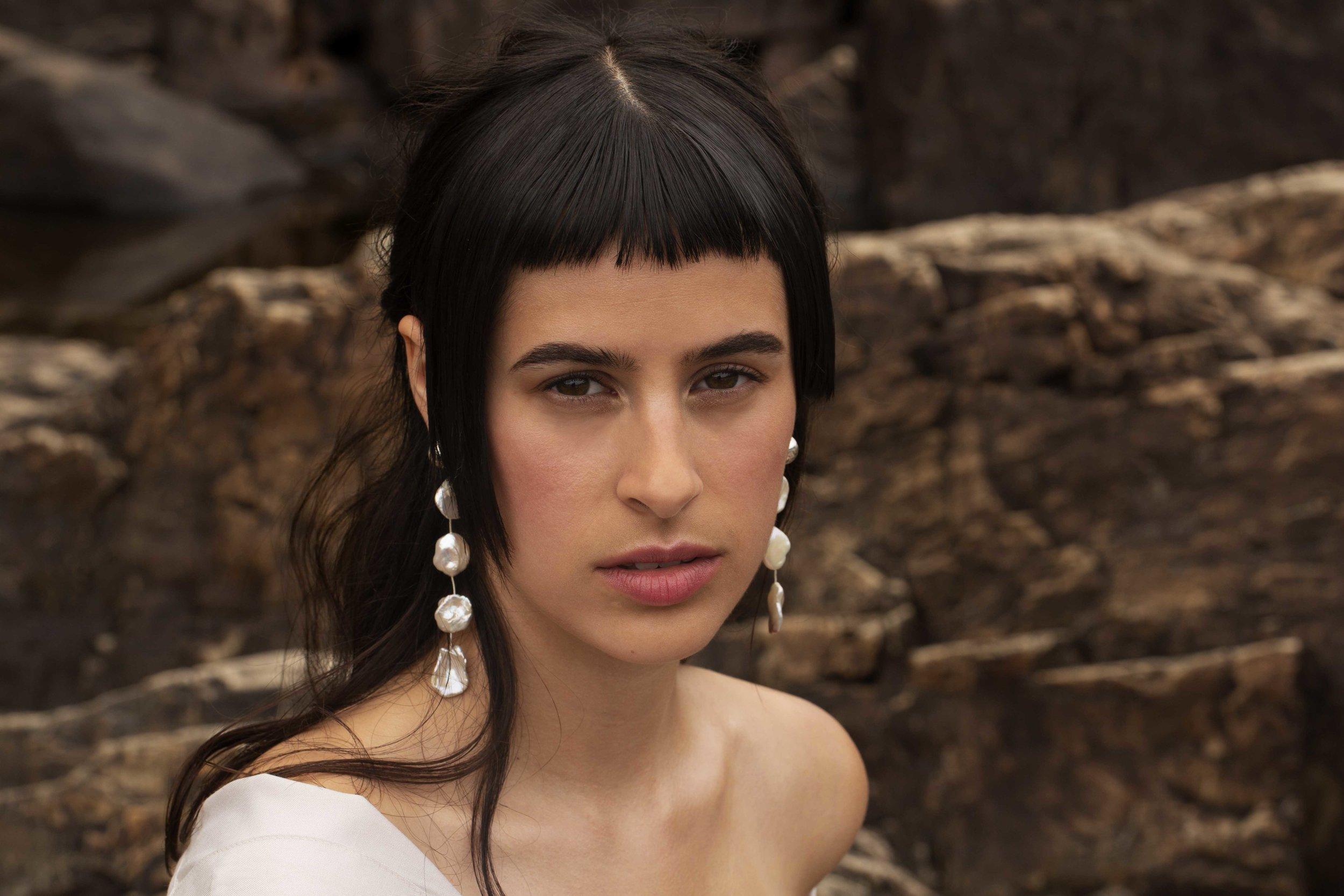 ▲ AUDRA earrings