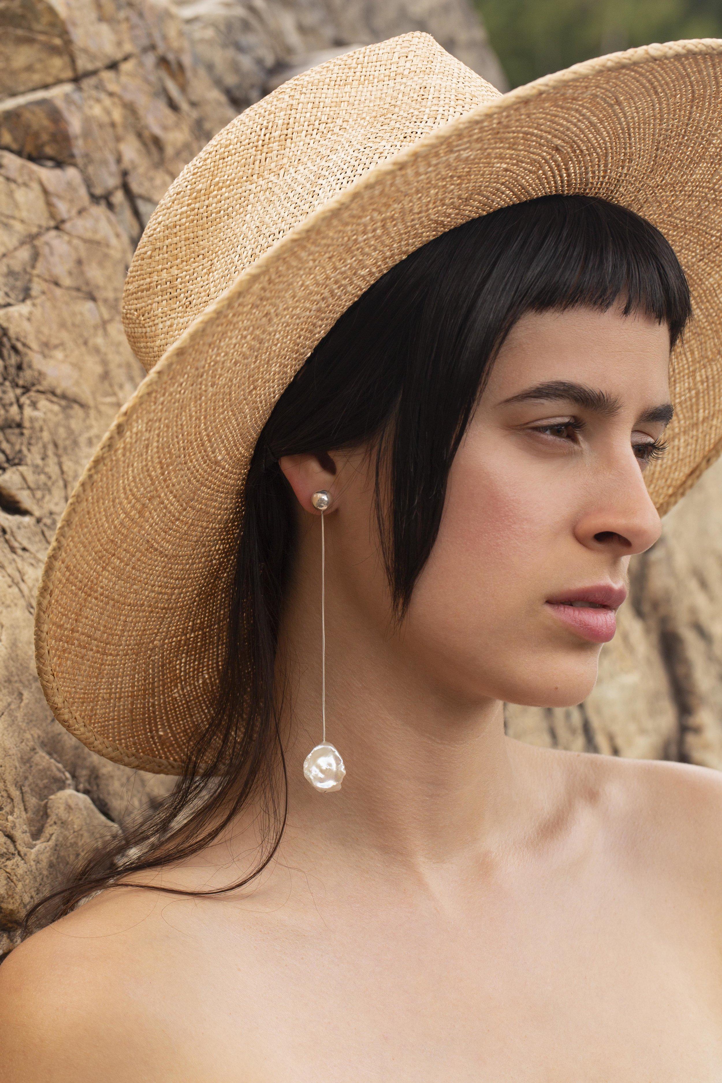▲ PISAR earrings