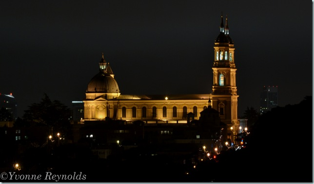 church in the city