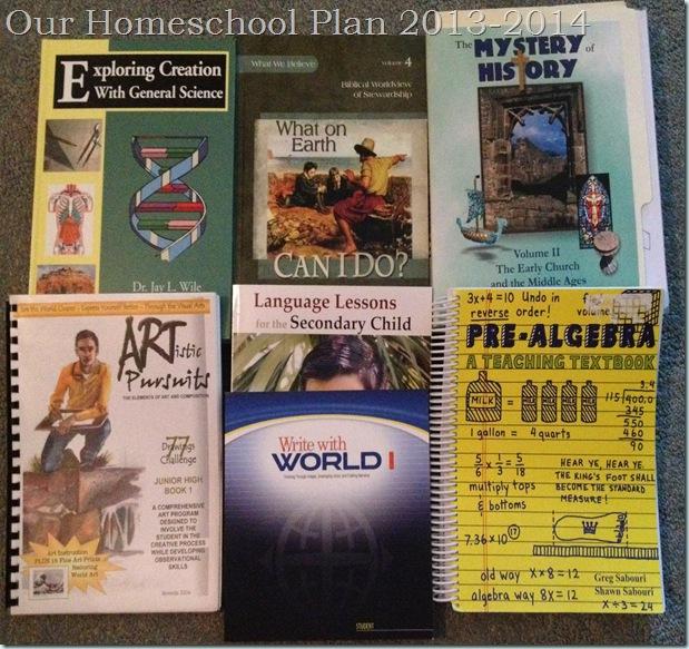 homeschool plan