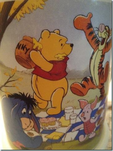 Pooh Bear mug