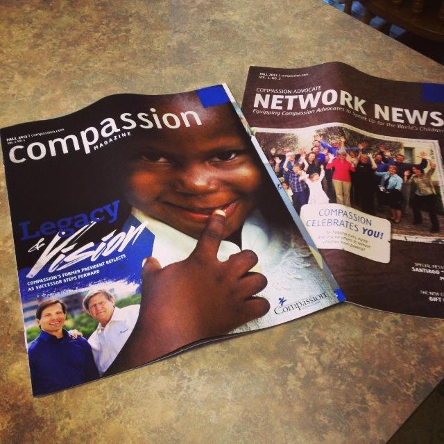 Compassion magazines