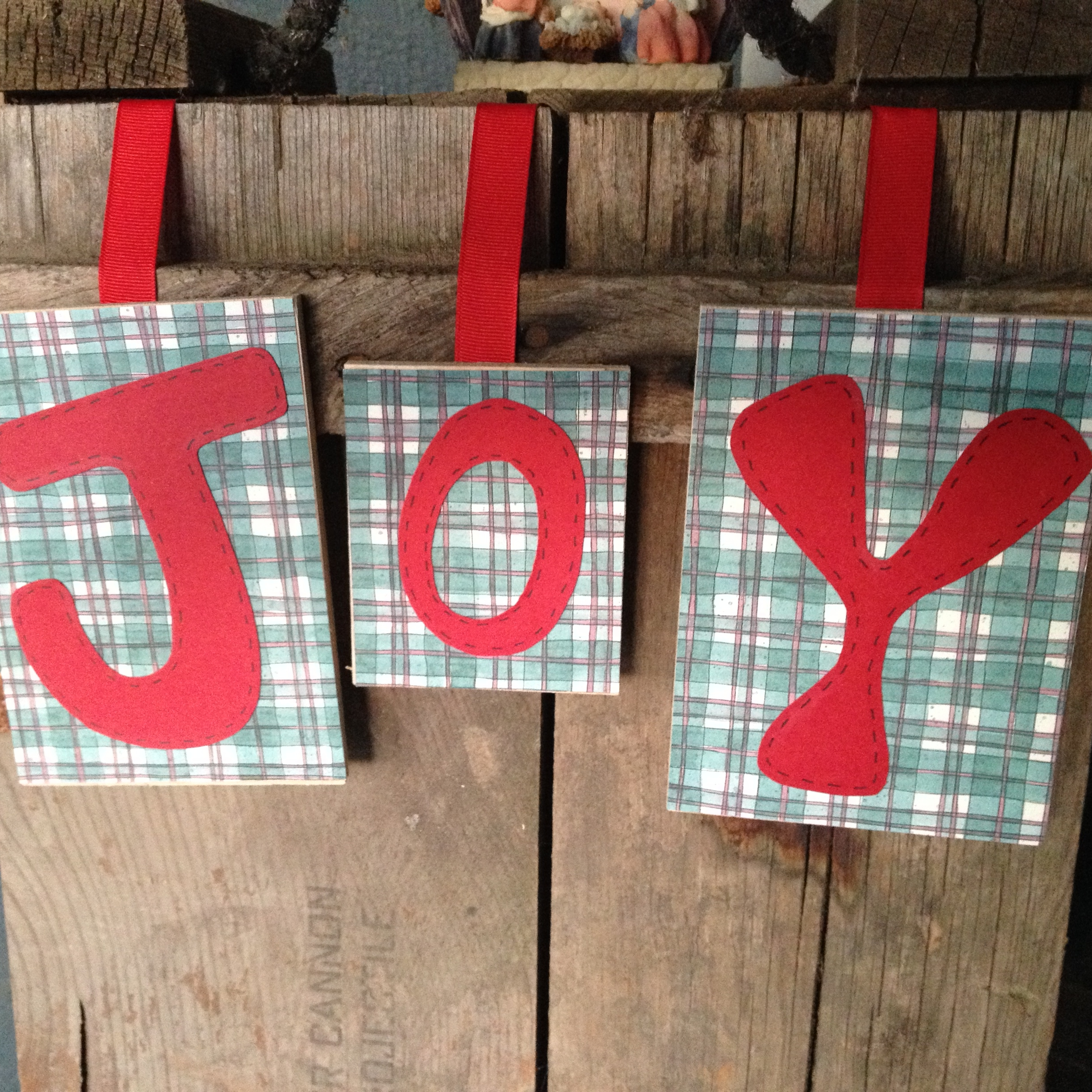 Red and green Christmas joy