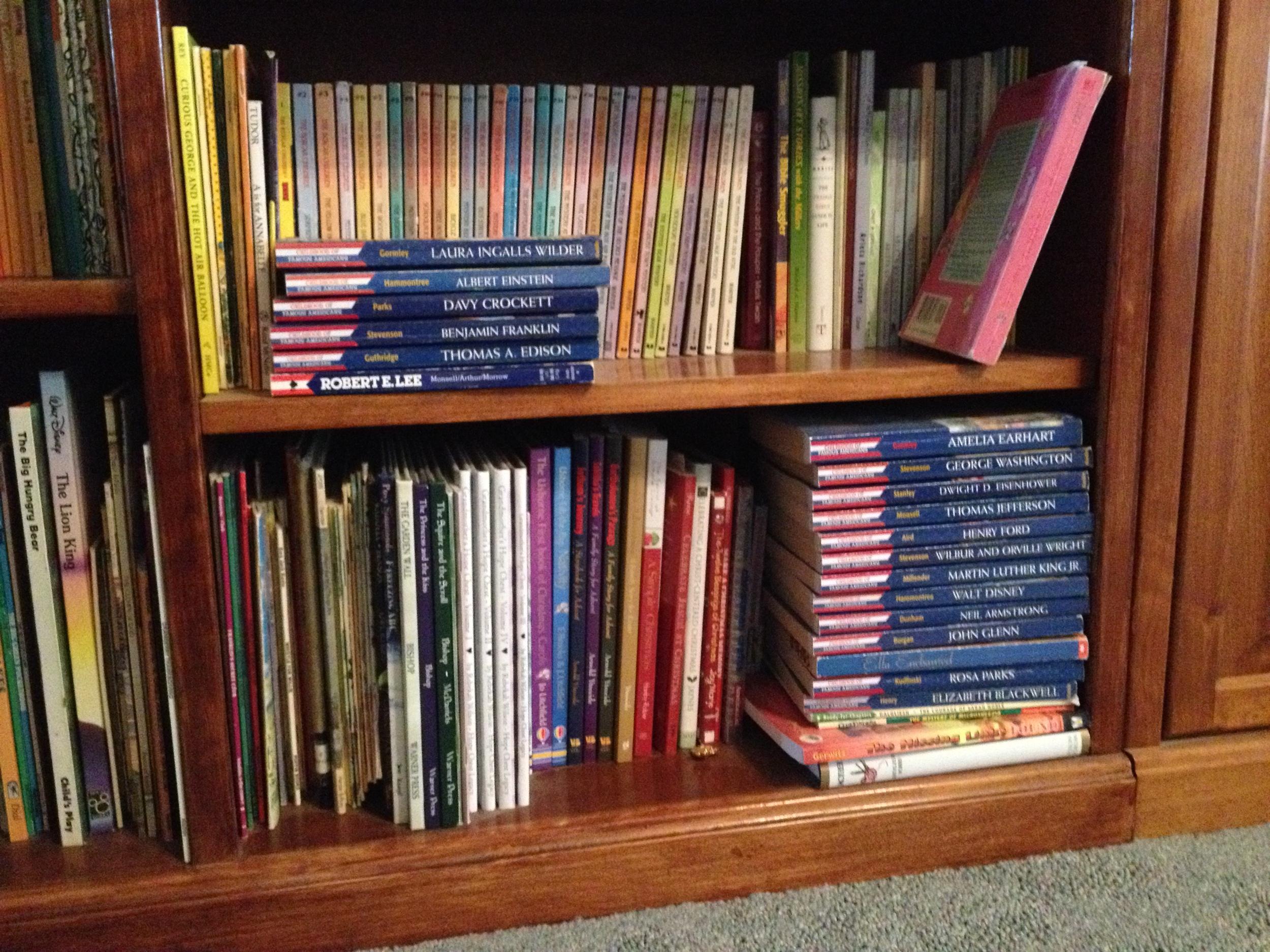 another full bookshelf