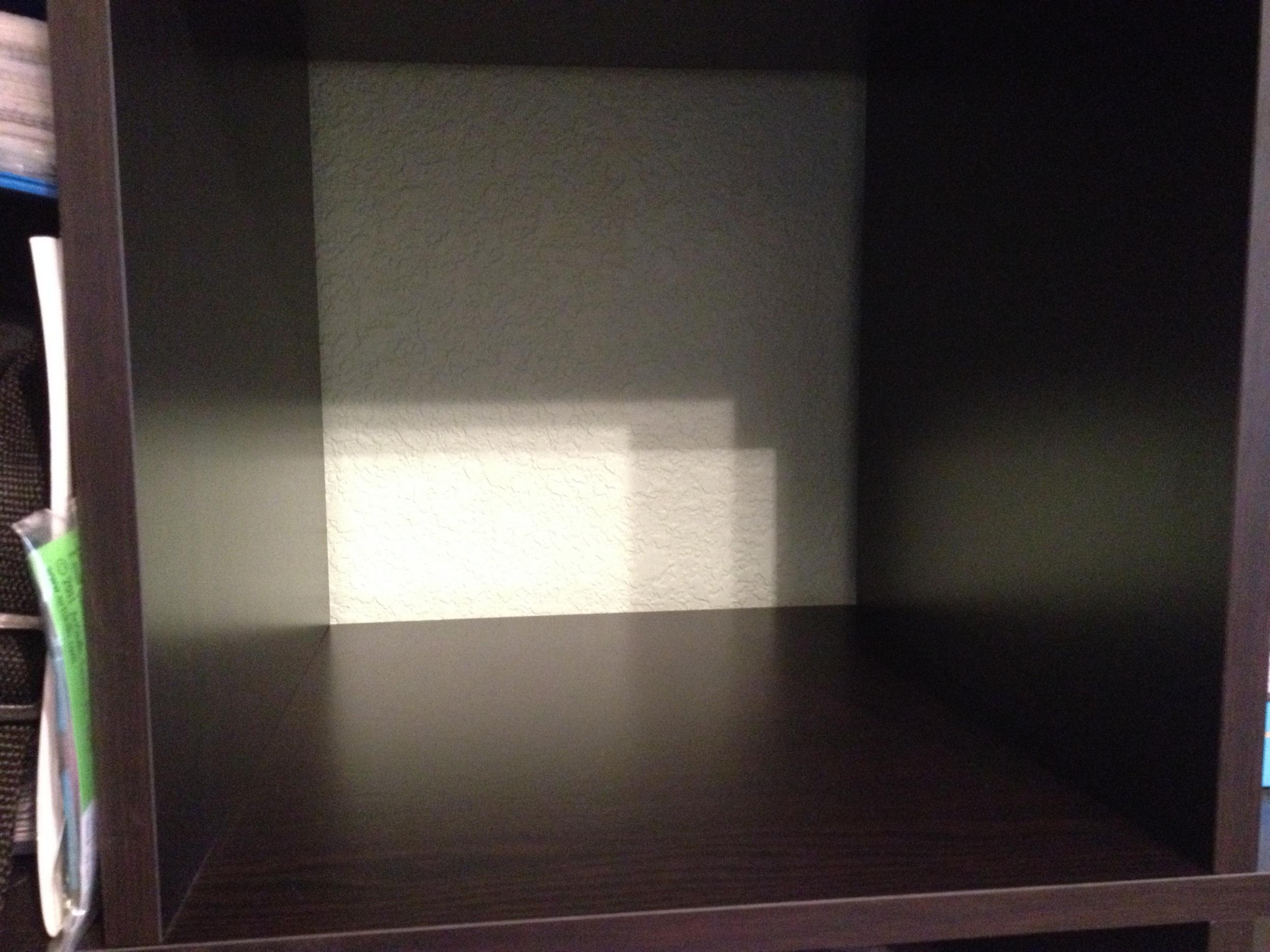 empty shelf challenge