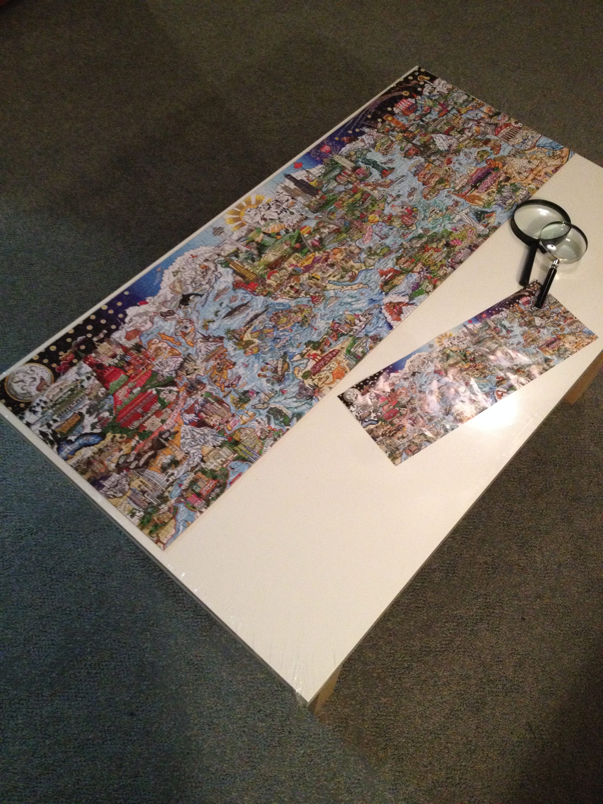 Completed puzzle!