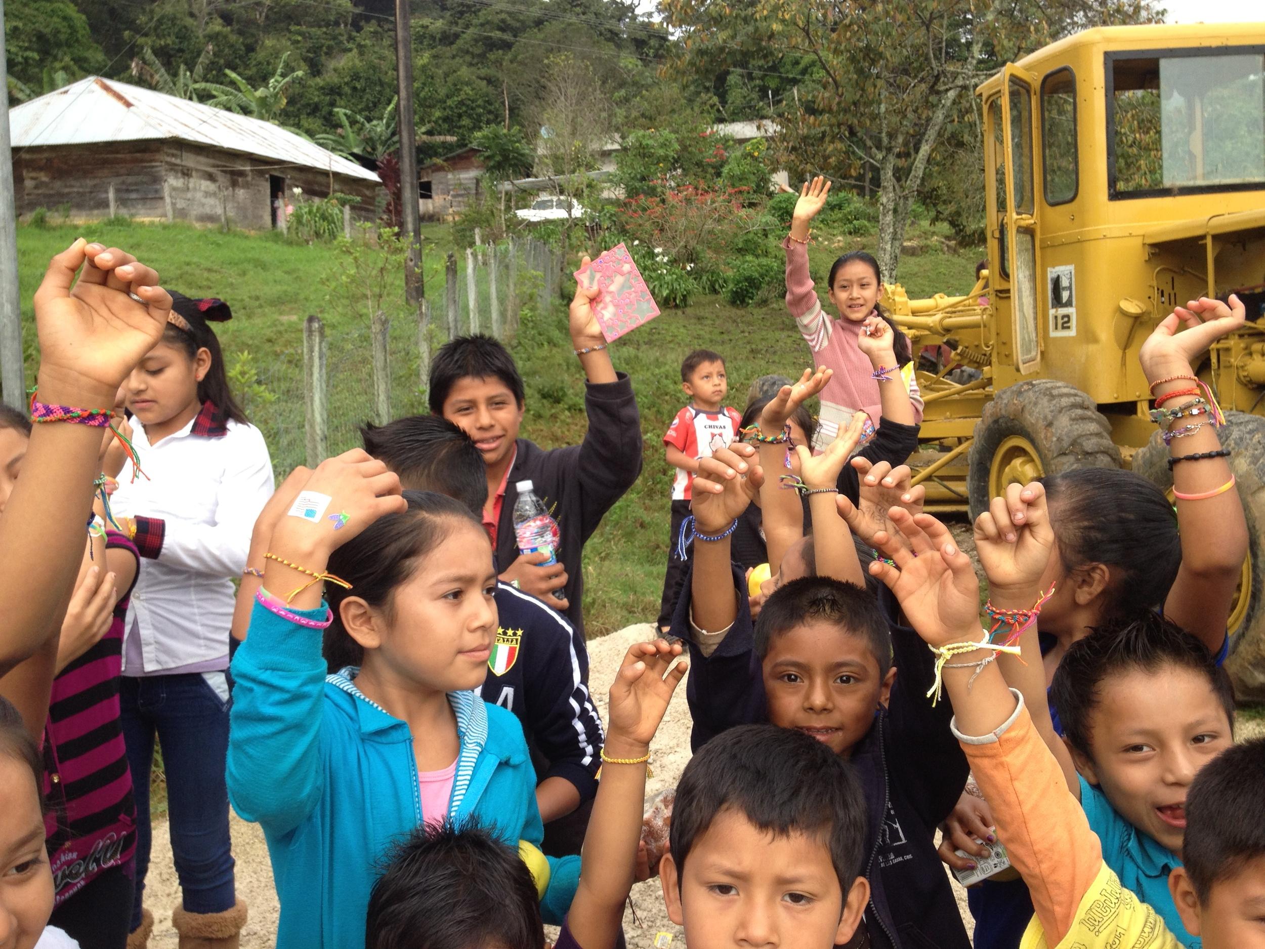Friendship bracelets for the children