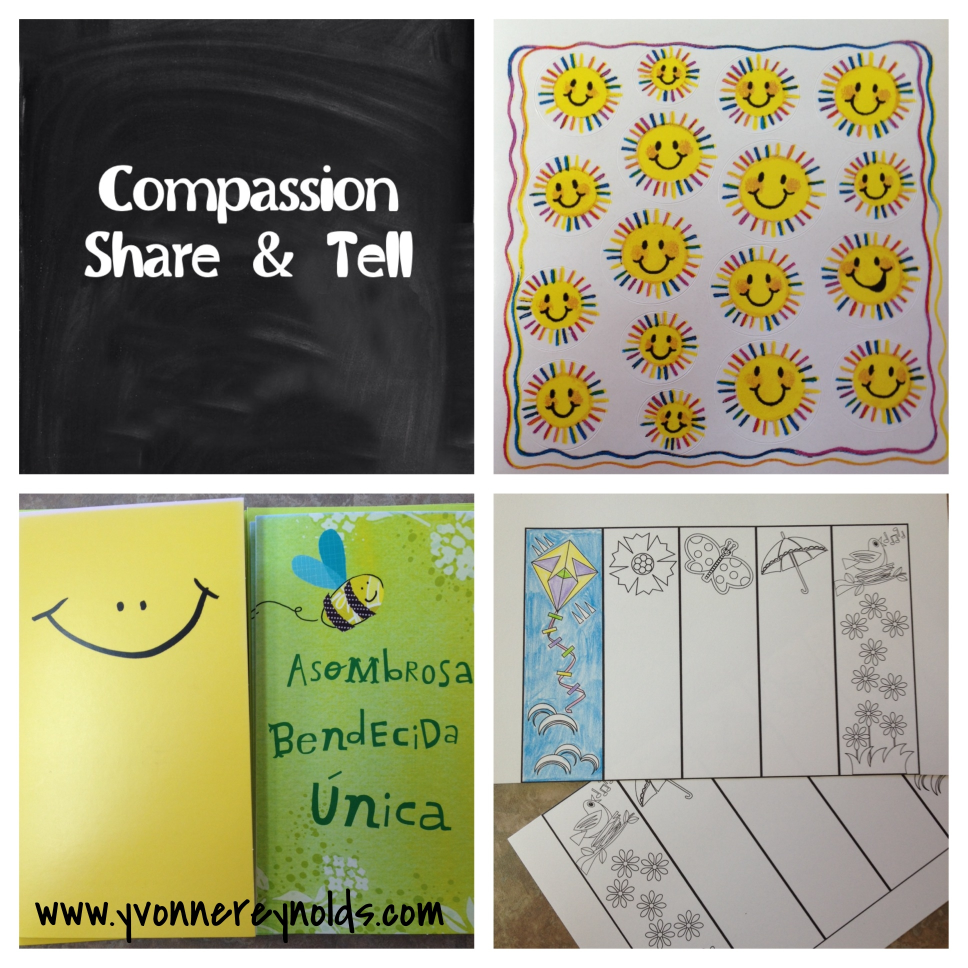 Here is what I am sending to my Compassion kids this month