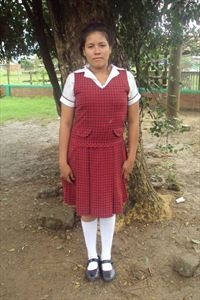 LIna, our Compassion sponsored child from Colombia