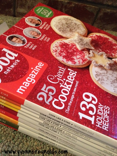Clutter or not: pile of old magazines