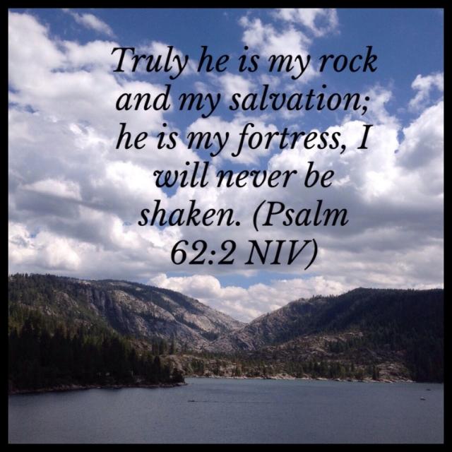 Psalm 62:2 scripture photo
