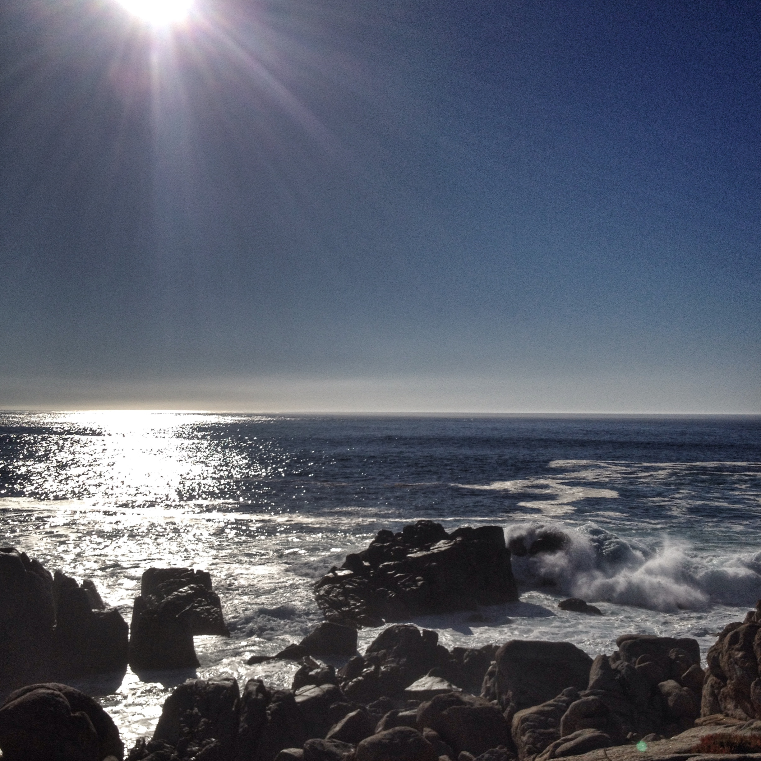 Pacific Ocean off 17 mile drive