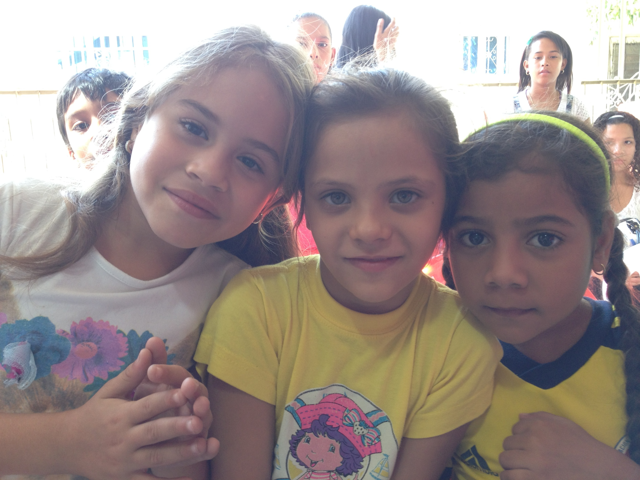 Compassion kids in Colombia