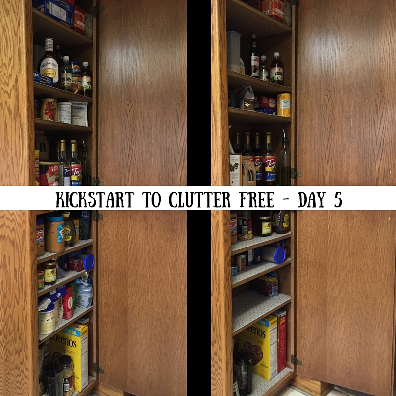 Kickstart to Clutter Free Day 5