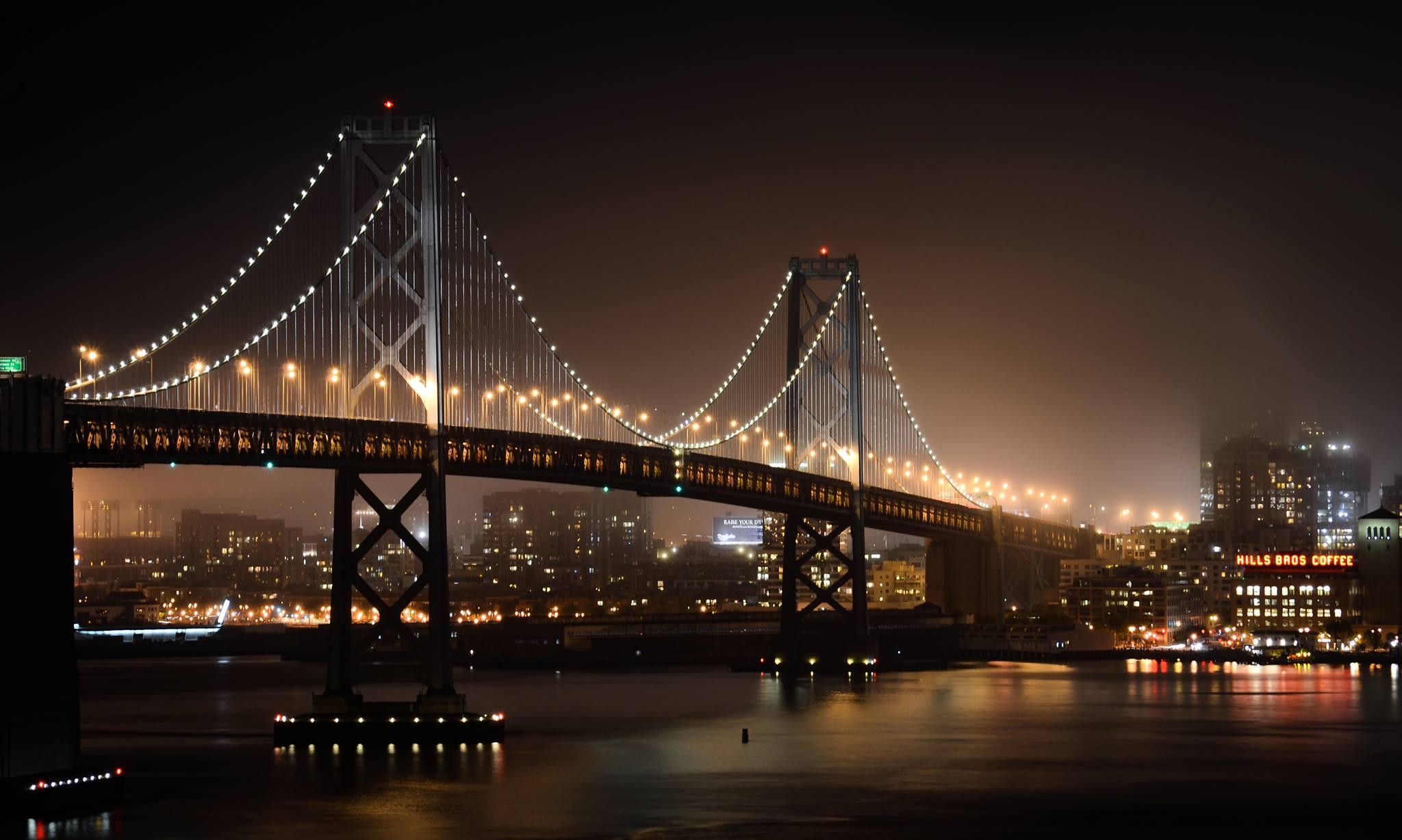 Bay Bridge photo from 3 years ago