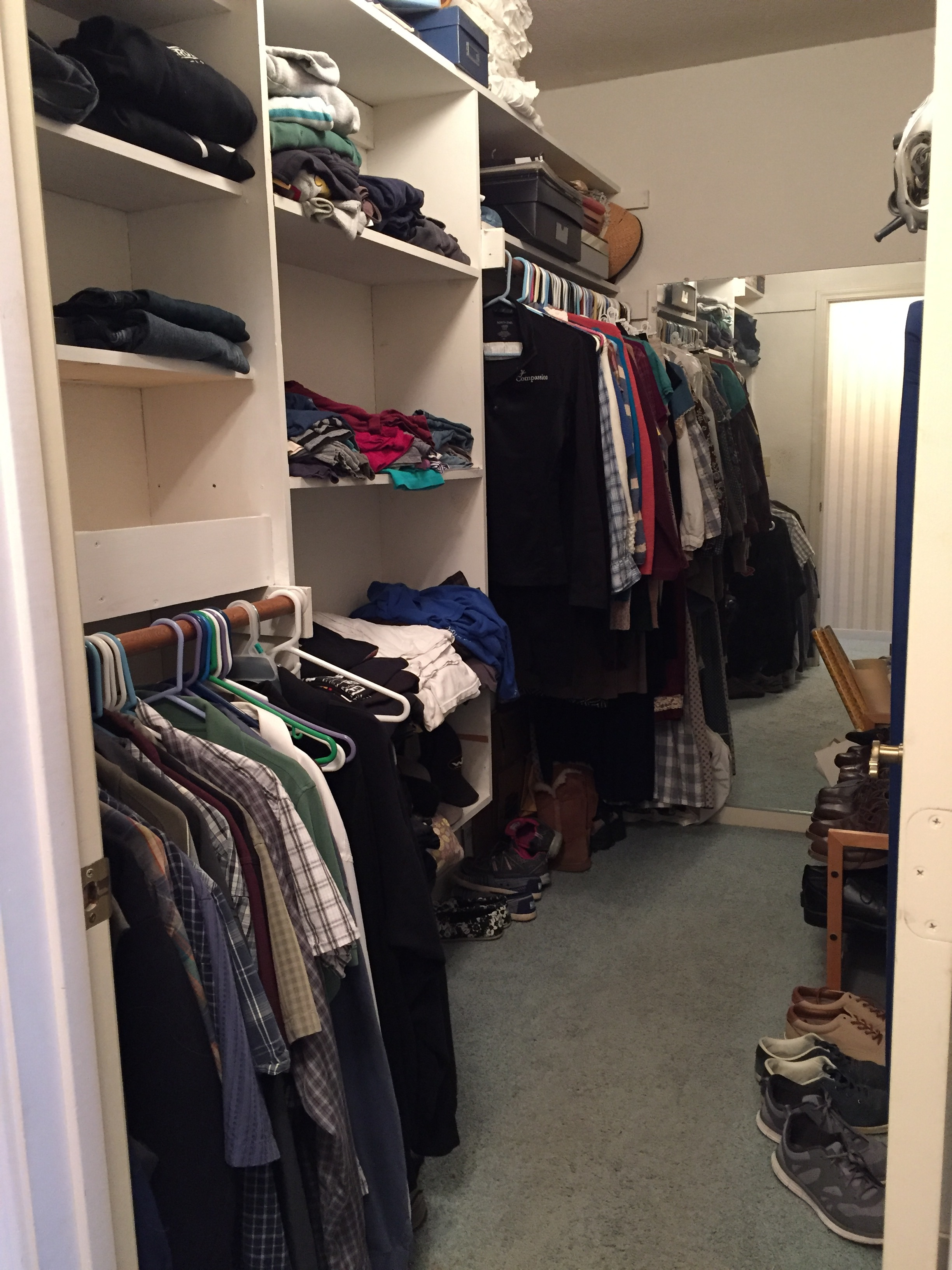 Kickstart to Clutter Free closet