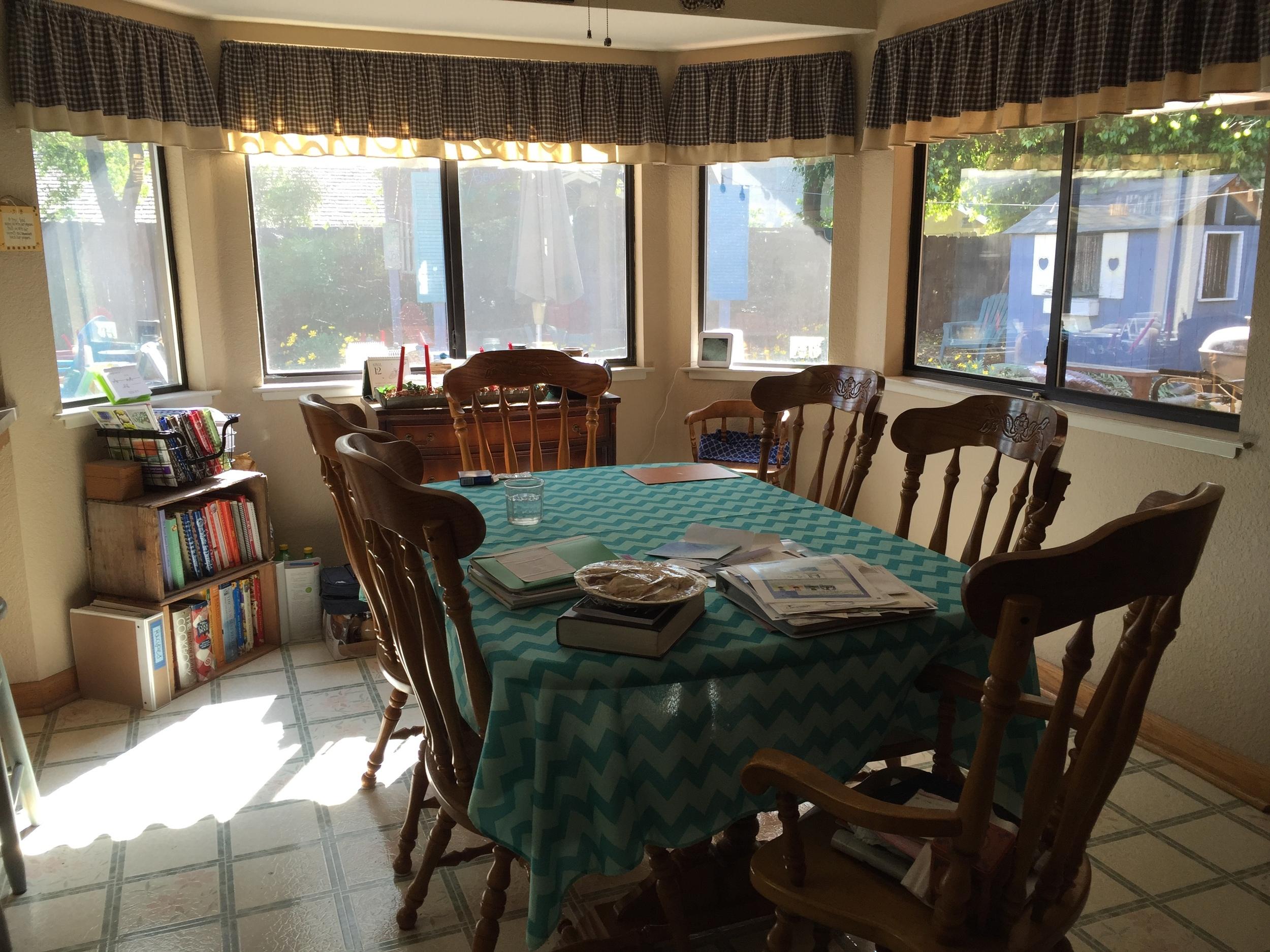 Kickstart to Clutter Free - Dining Room