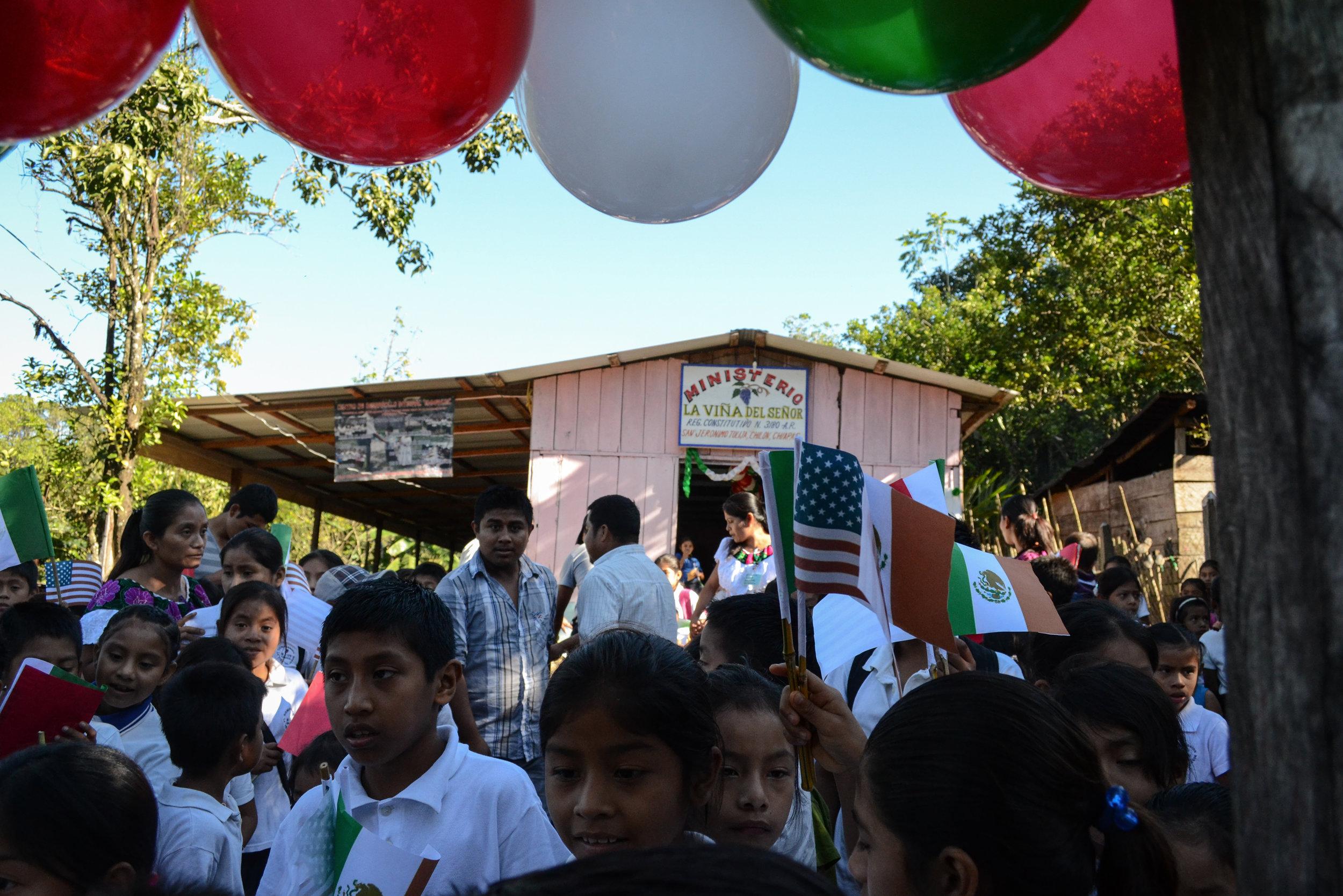Compassion church partner in Chiapas
