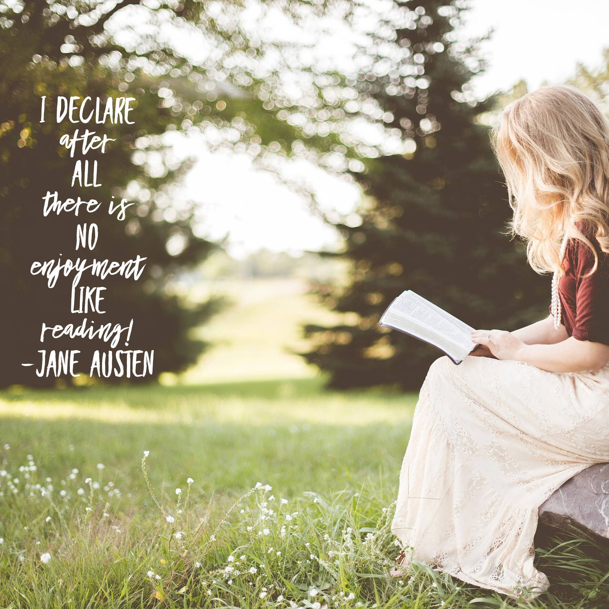 Jane Austen reading quote