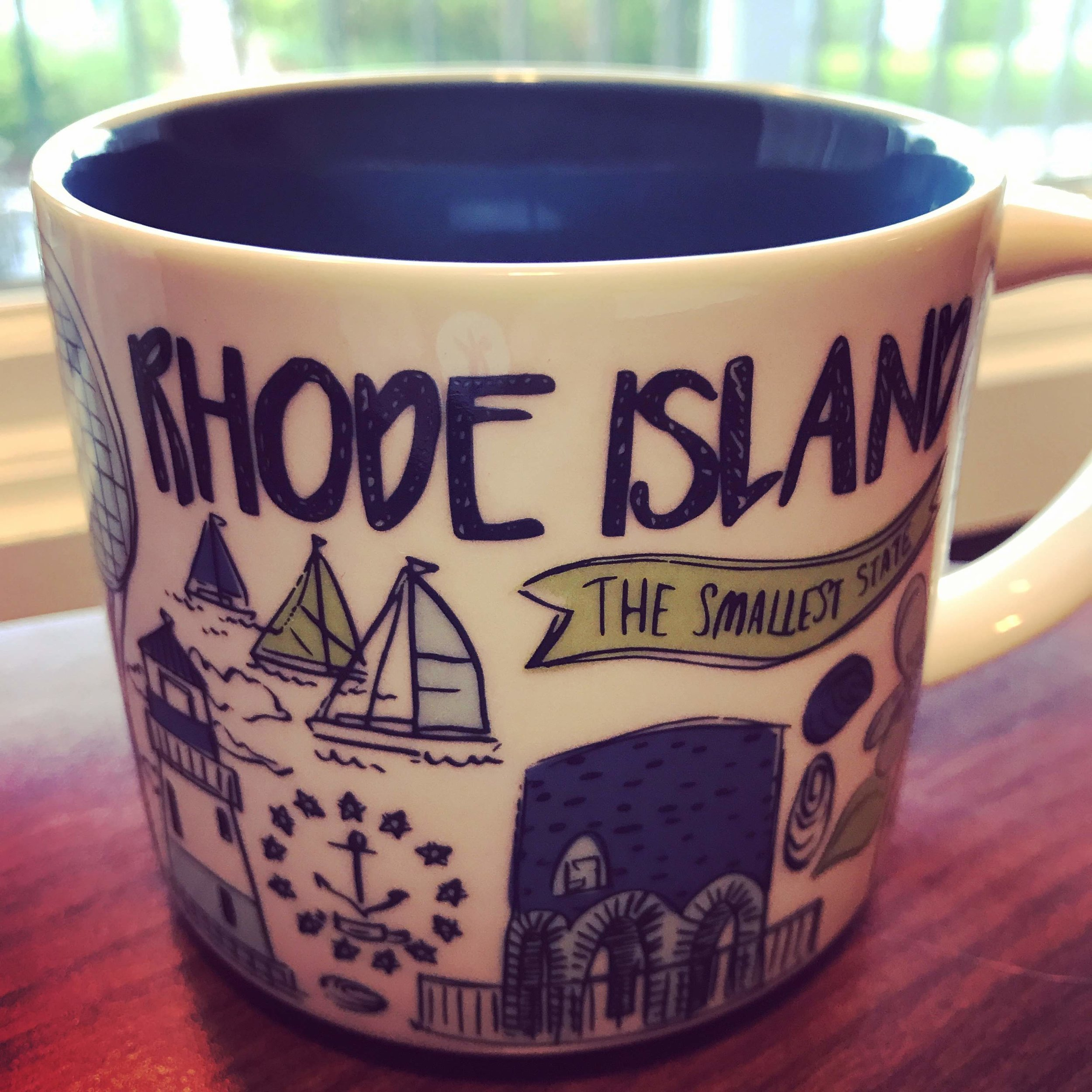 Rhode Island Stabucks Been There mug