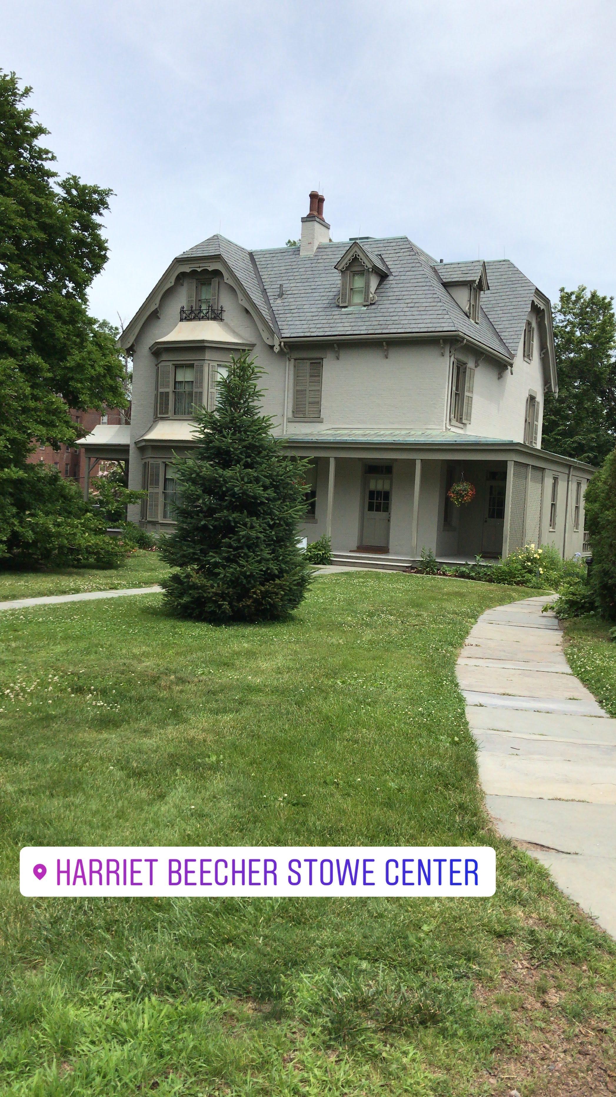 Harriet Beecher Stowe's home