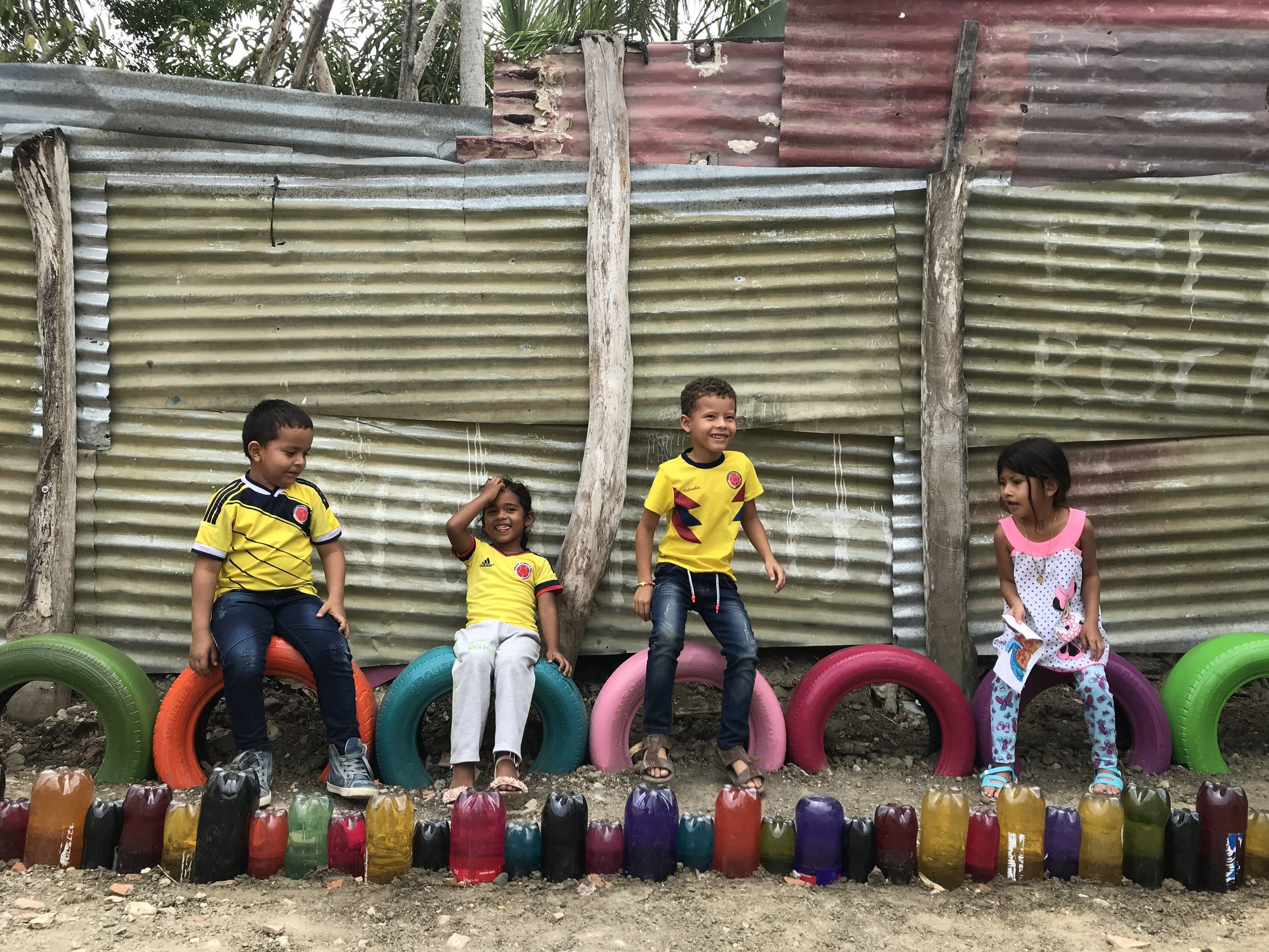 Compassion children in Colombia