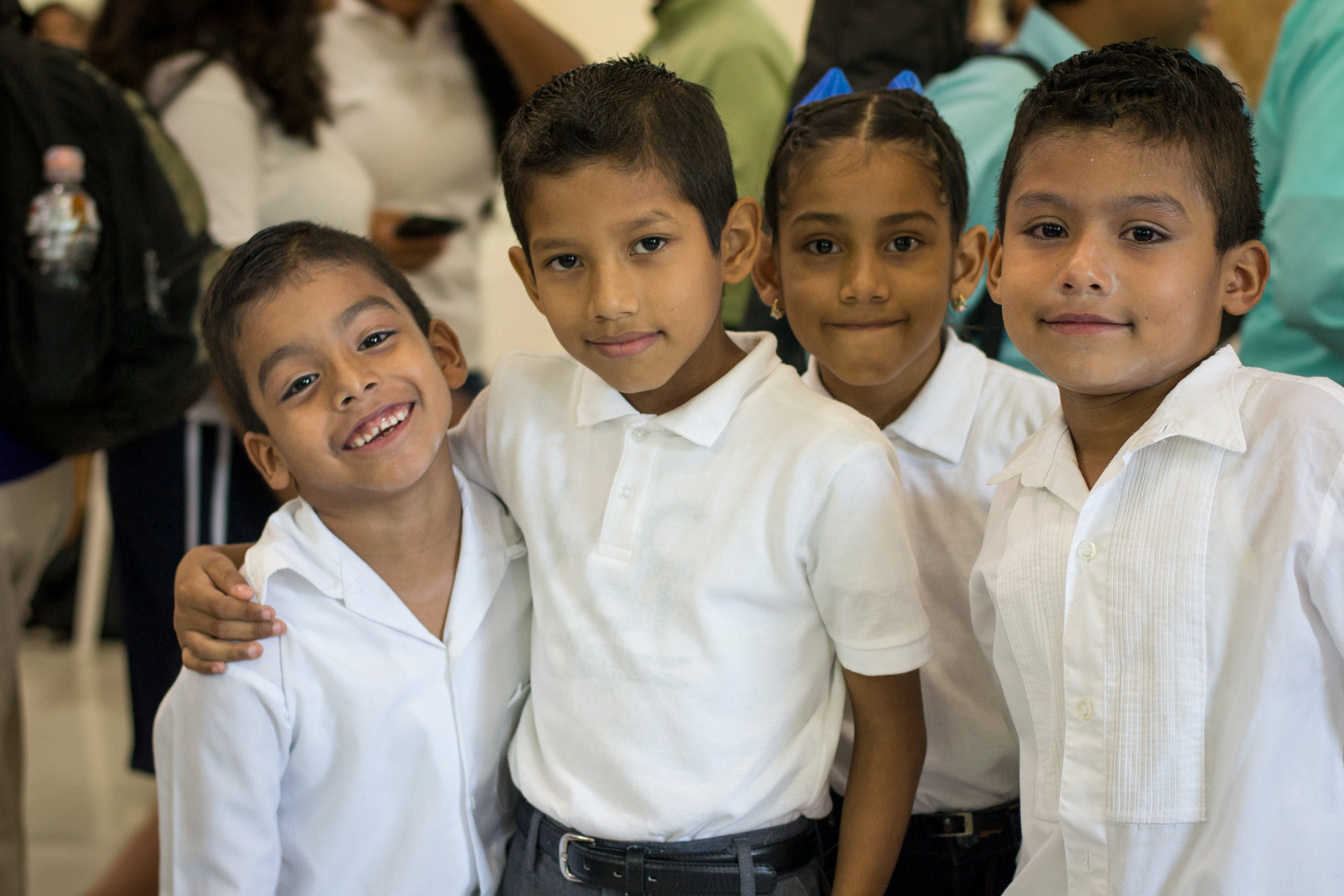 Compassion sponsored children in Mexico