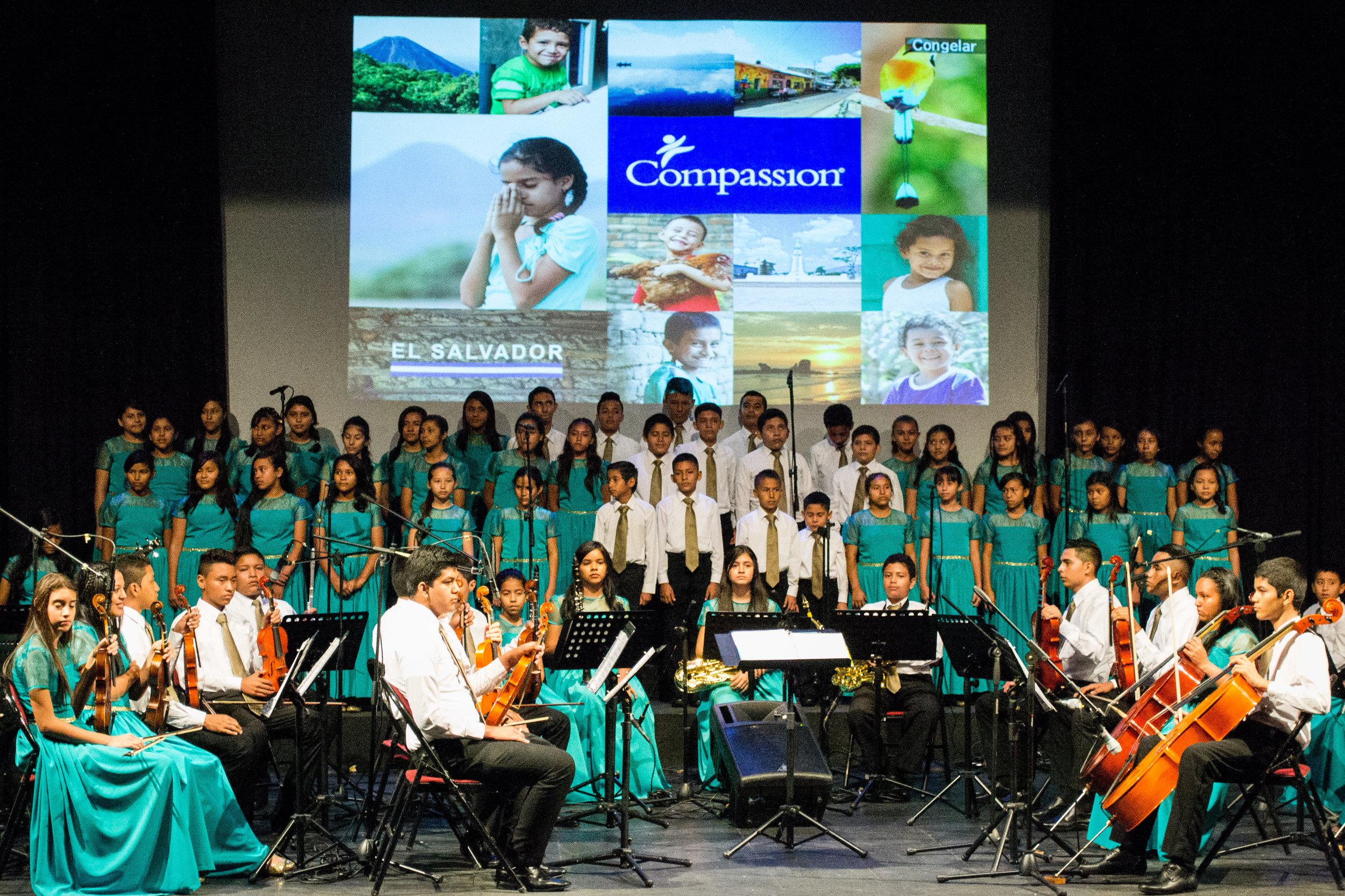 Compassion in El Salvador