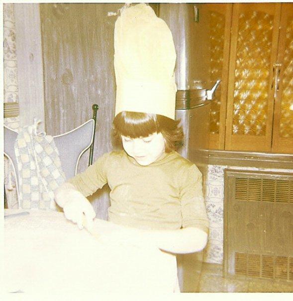 Chef Stef, age 5