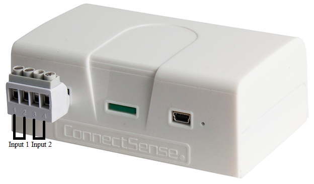 ConnectSense Dry Contact Sensor with 2 Dry Contact Inputs