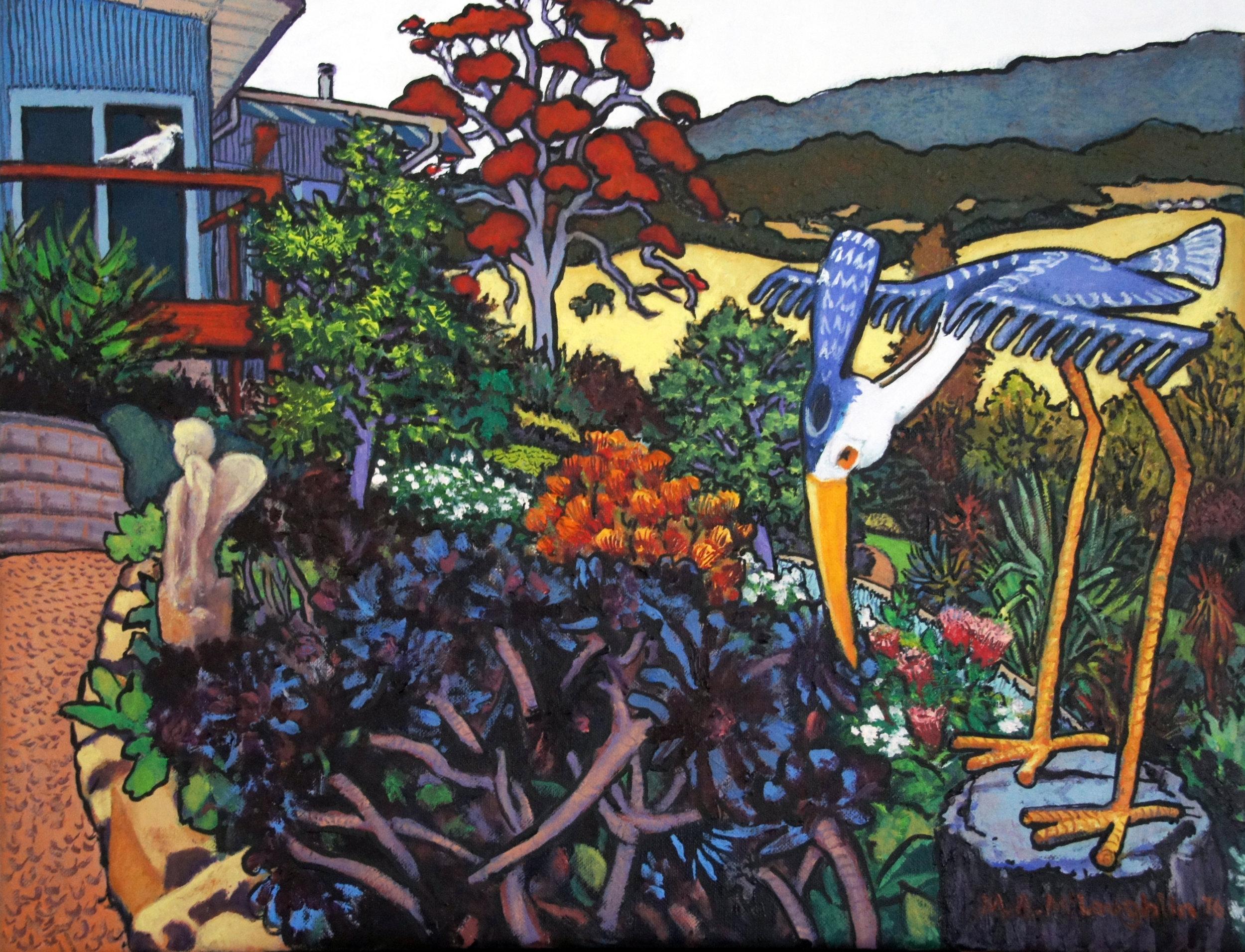 Artists Garden 2 - Margaret McLoughlin