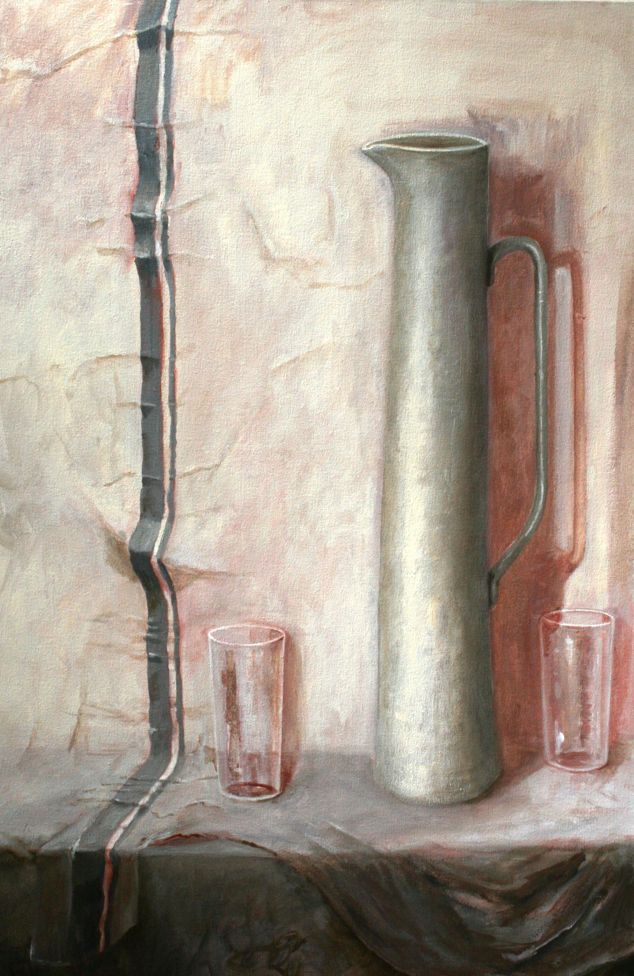 Still life with jug - Lesley Dickman