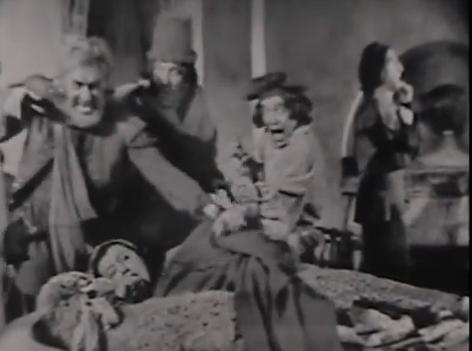 """Baaa Humbug! """"Omnibus"""" production of  The Second Shepherd's Play , 1954"""