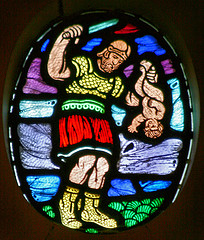 Slaughter of the Innocents , Chapel at St. Thomas University, Minneapolis, MN