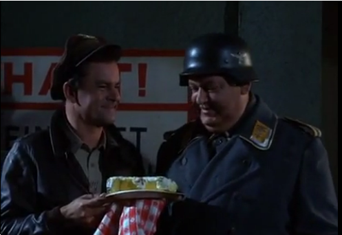 """From """"Praise the Fuhrer and Pass the Ammunition,"""" one of the most popular  Hogan's  episodes...."""