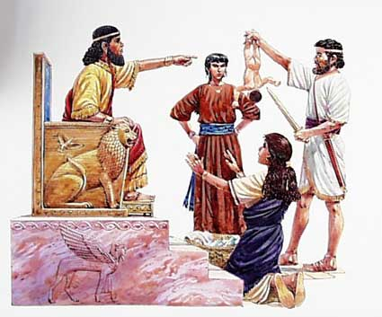 The last time Solomon was actually wise around women!